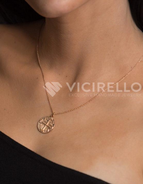 Λυδία Κωνσταντινάτο Ροζ Χρυσό Ασήμι 925