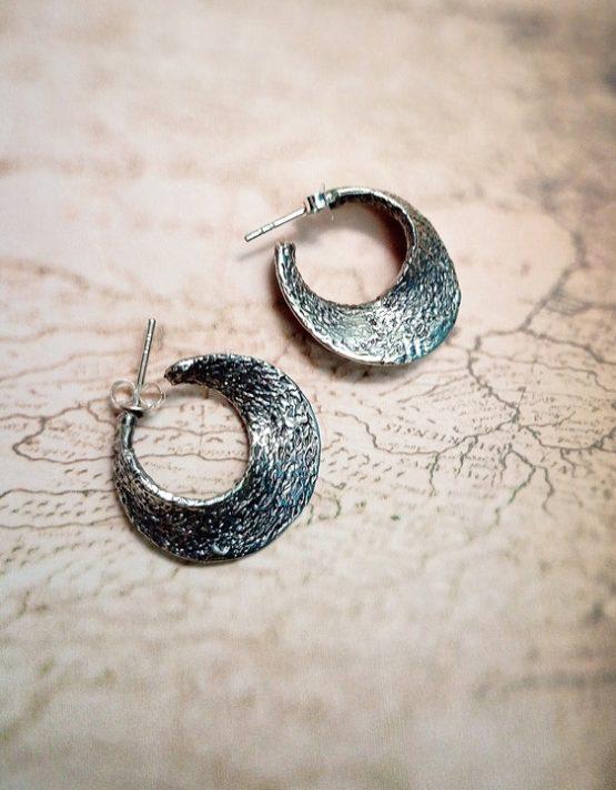 Κυκλάδες Ασήμι 925 Σκουλαρίκια