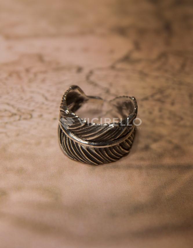 Δελχί Ασήμι 925 Δαχτυλίδι