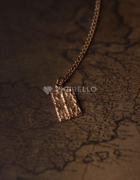 Ναταλία Κωνσταντινάτο Ροζ Χρυσό Ασήμι 925