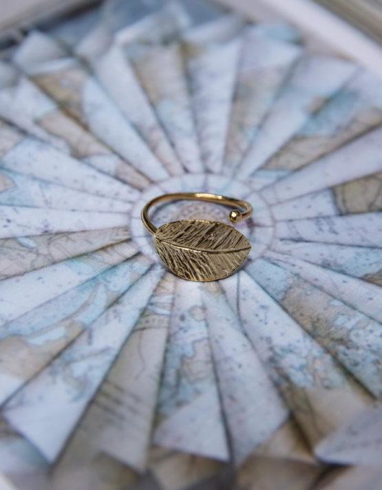 Φιλοθέη Επίχρυσο Δαχτυλίδι