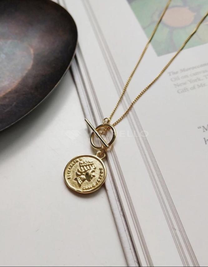 Βασιλική Ασήμι 925 Κολιέ