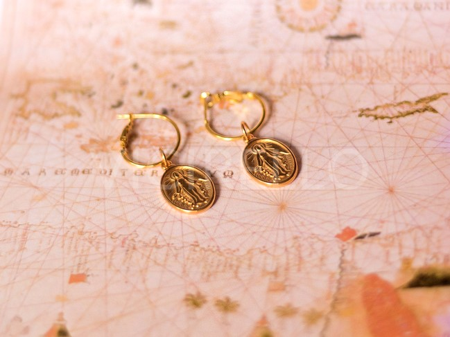 Τήνος Gold Hoops