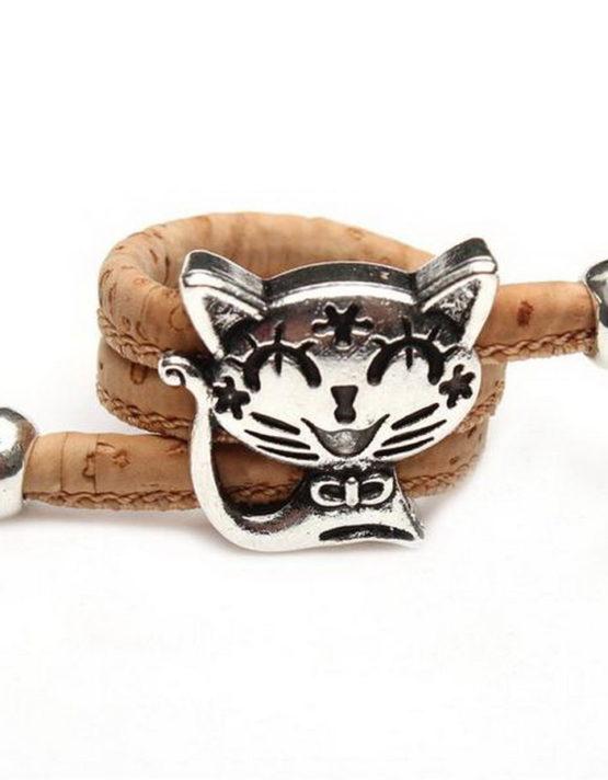 Γάτα Ανοιχτό Καφέ Δαχτυλίδι