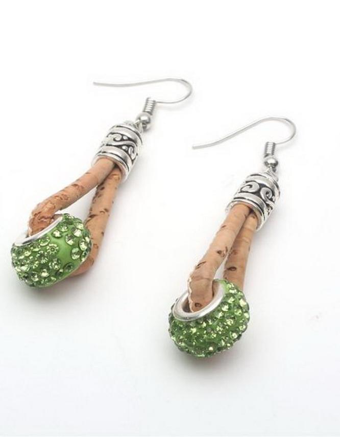 Ταϊλάνδη Πράσινα Σκουλαρίκια