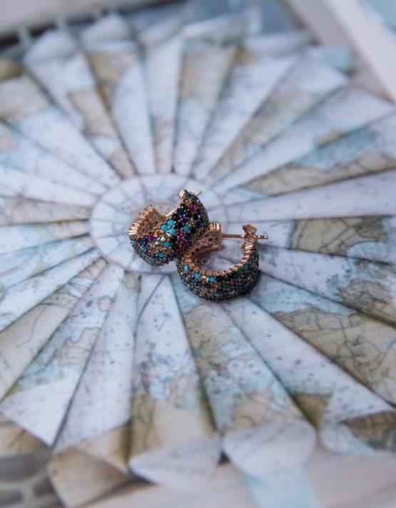 Υάδες Σκουλαρίκια Ασήμι 925