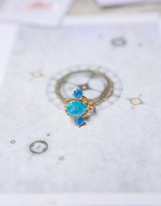Αγνή Επίχρυσο Δαχτυλίδι(+Χρώματα)
