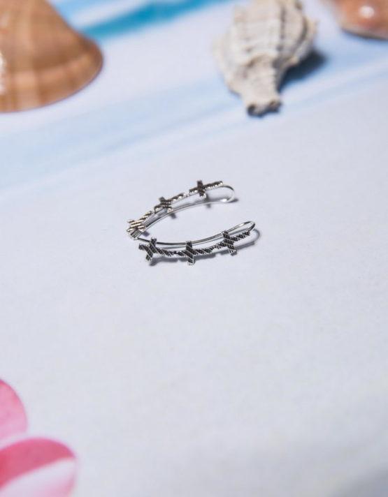 Σταυρός 1 Climber Earrings