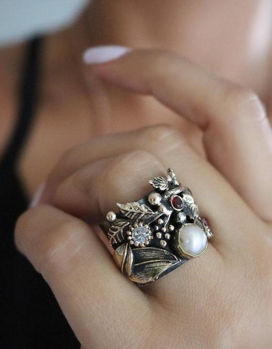 Βενετία 6 Ασήμι 925 Δαχτυλίδι