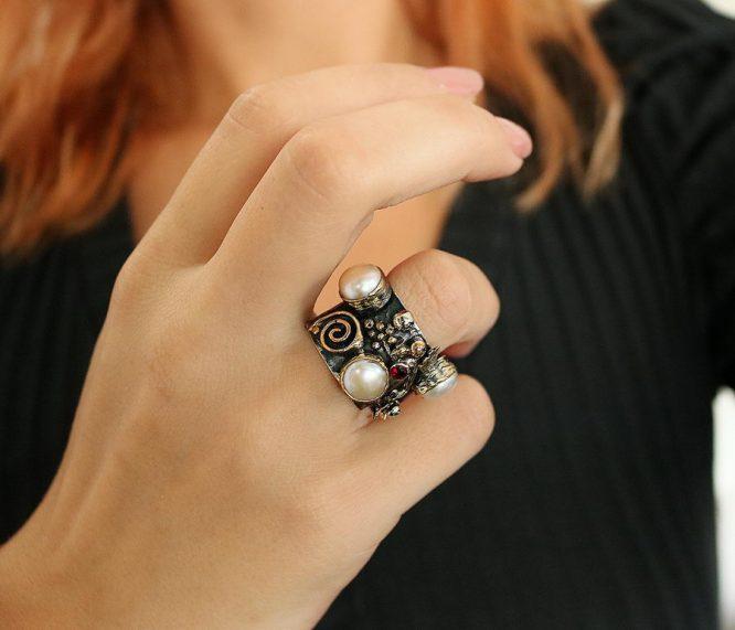 Βενετία 95 Ασήμι 925 Δαχτυλίδι