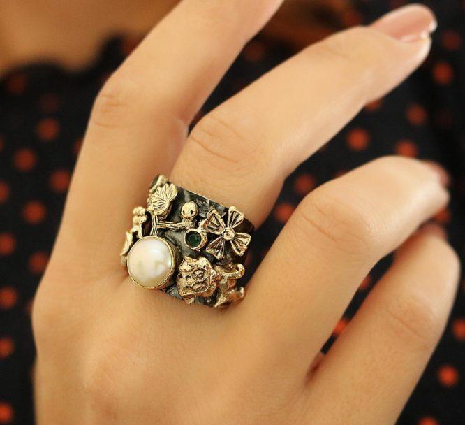 Βενετία 103 Ασήμι 925 Δαχτυλίδι
