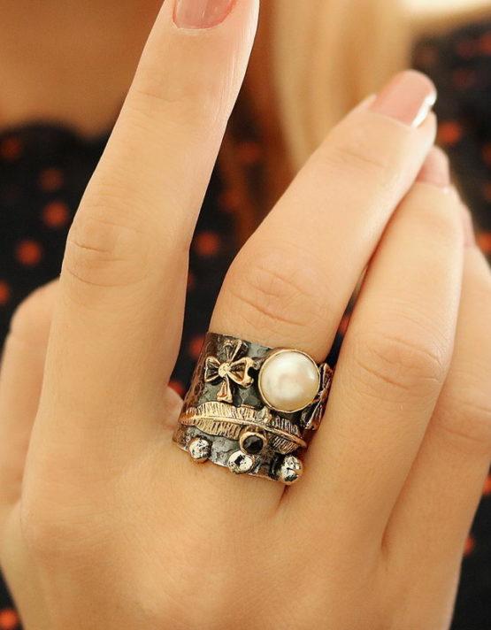 Βενετία 104 Ασήμι 925 Δαχτυλίδι