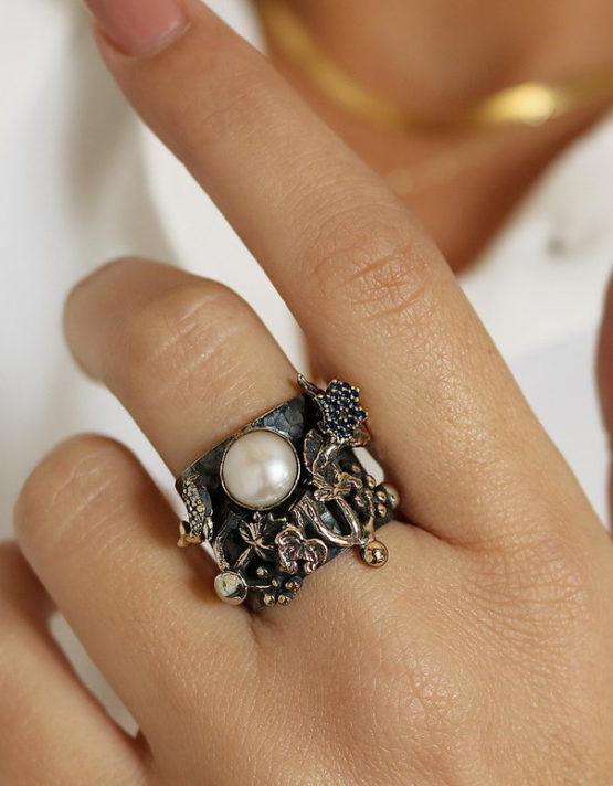 Βενετία 110 Ασήμι 925 Δαχτυλίδι
