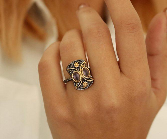Δαχτυλίδι Μισοφέγγαρα(+Χρώματα)