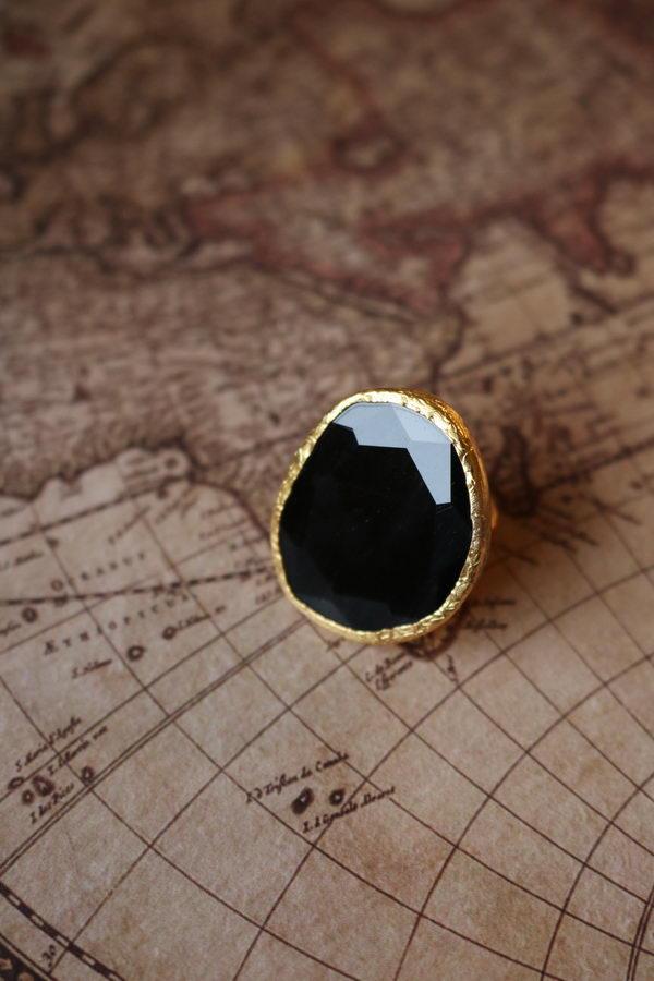 Σκορπιός Μαύρο Μεγάλο Δαχτυλίδι