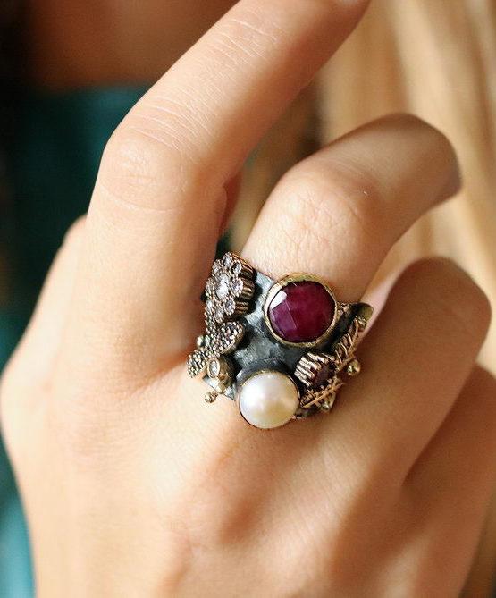 Βενετία 121 Ασήμι 925 Δαχτυλίδι