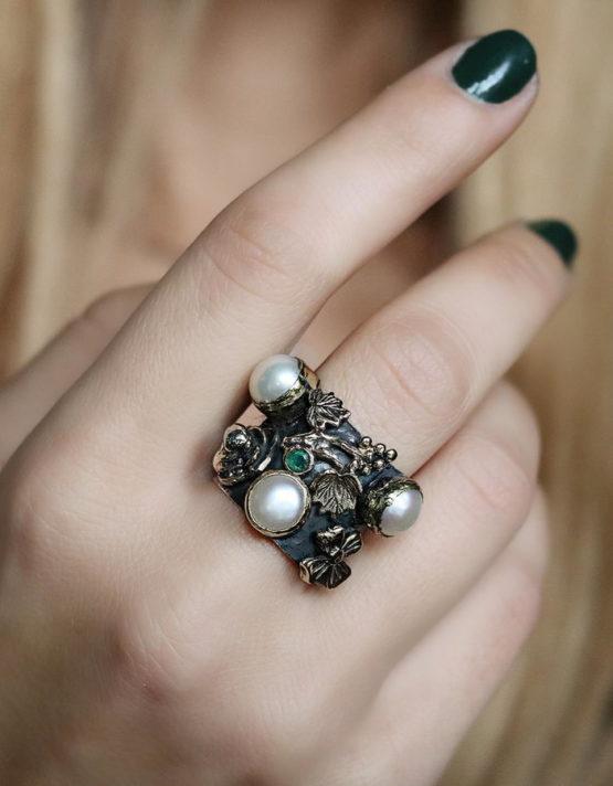 Βενετία 175 Ασήμι 925 Δαχτυλίδι