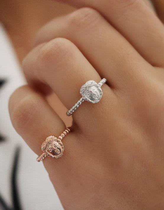 Συμβολικό Δαχτυλίδι Πρόσωπο