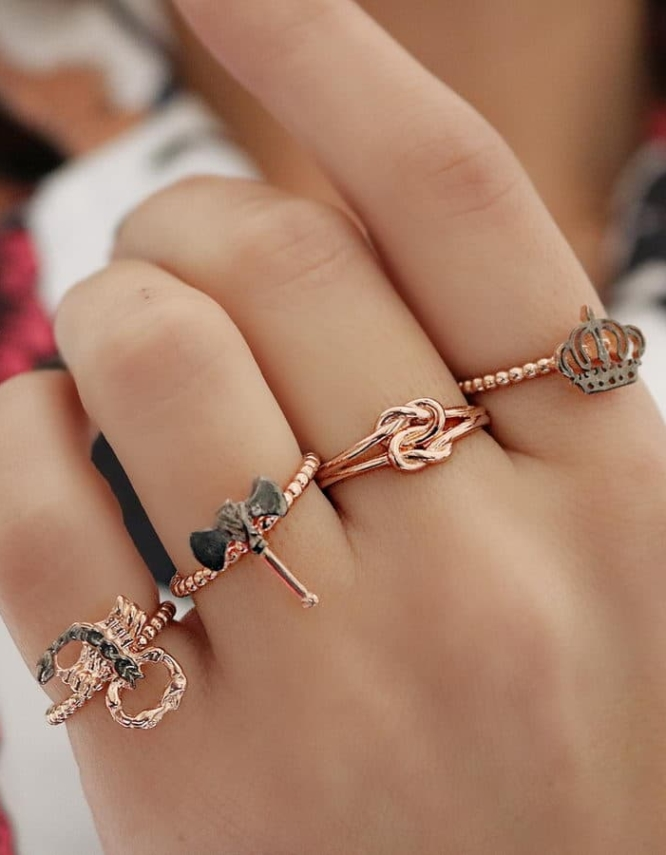 Συμβολικά Δαχτυλίδια Ασήμι 925