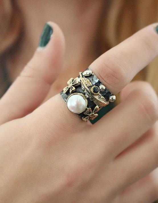 Βενετία 191 Ασήμι 925 Δαχτυλίδι