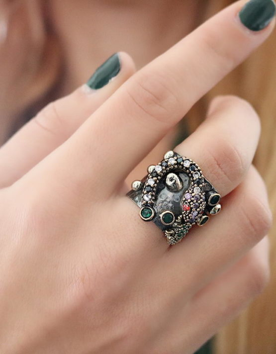 Βενετία 193 Ασήμι 925 Δαχτυλίδι