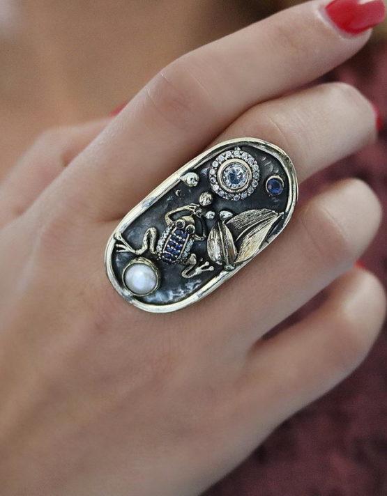 Βενετία 203 Ασήμι 925 Δαχτυλίδι