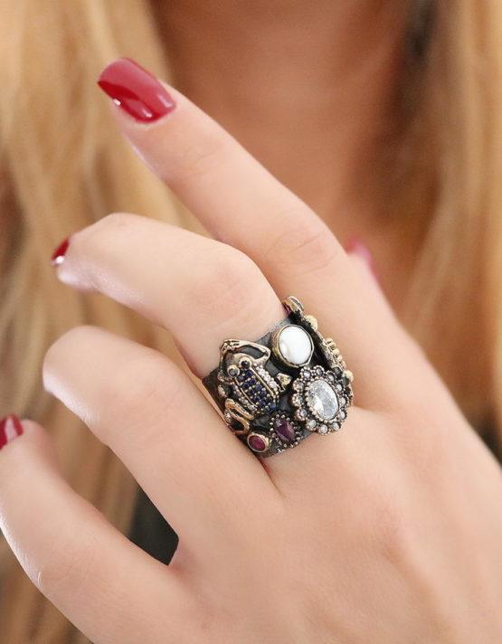 Βενετία 208 Ασήμι 925 Δαχτυλίδι