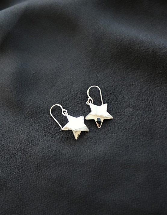 Stars Earrings Silver 925