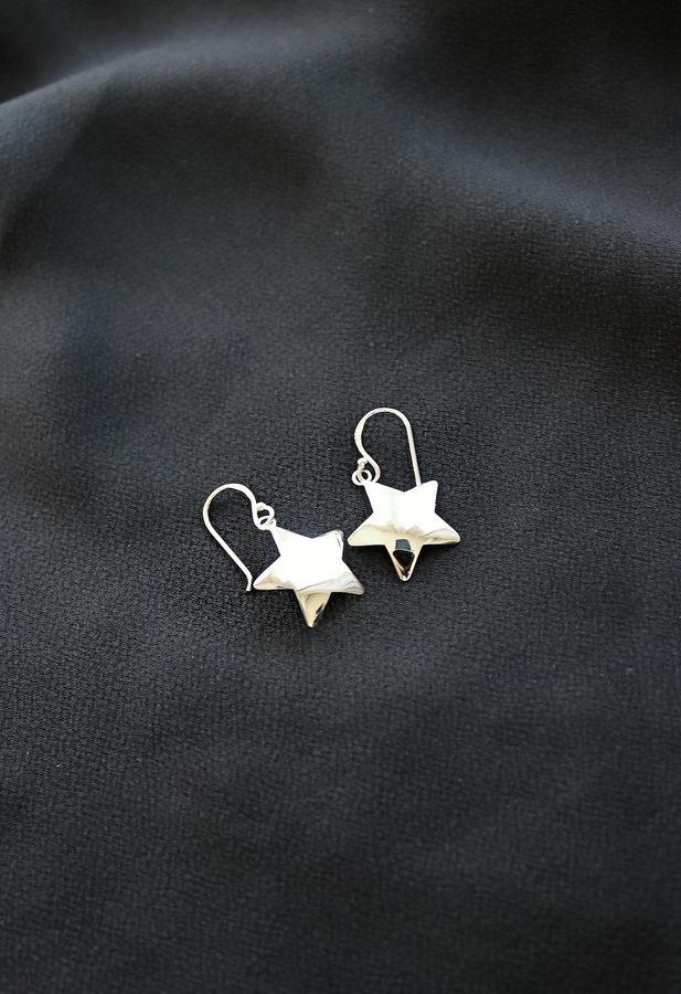 Αστέρια Ασήμι 925 Σκουλαρίκια