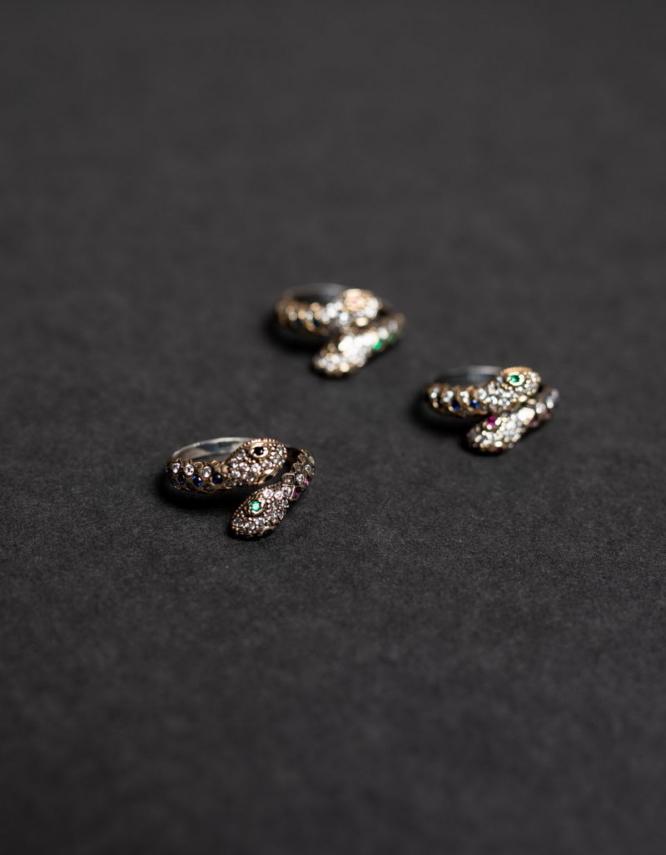 Όφις Ασήμι 925 Δαχτυλίδια