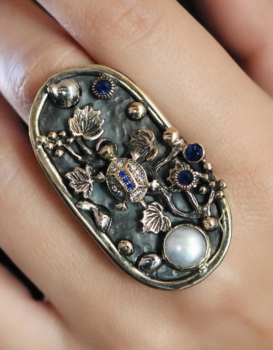 Βενετία 234 Ασήμι 925 Δαχτυλίδι