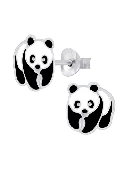 Panda Καρφωτά Σκουλαρίκια