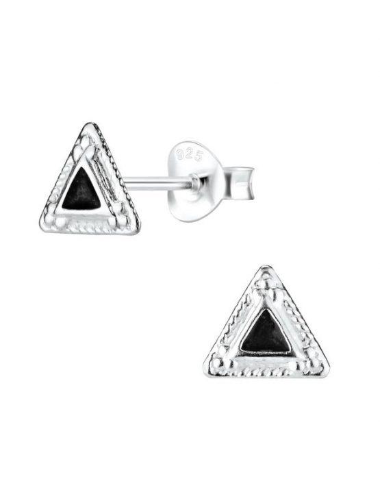 Triangle Καρφωτά Σκουλαρίκια