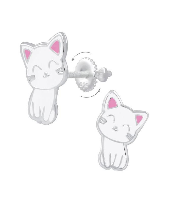 Γατούλες Καρφωτά Σκουλαρίκια