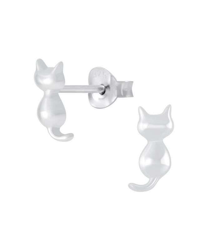Γάτα Παιδικά Σκουλαρίκια