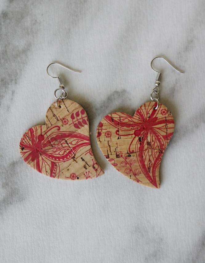 Αγάπη Σκουλαρίκια Καρδιές