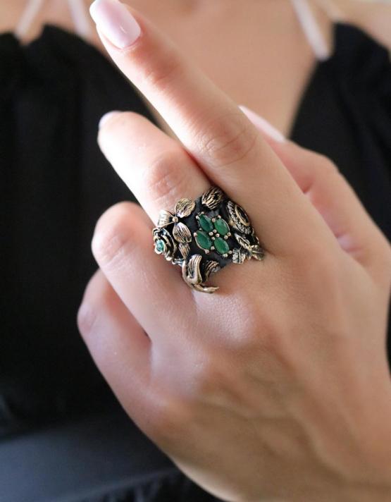 Βενετία 256 Ασήμι 925 Δαχτυλίδι