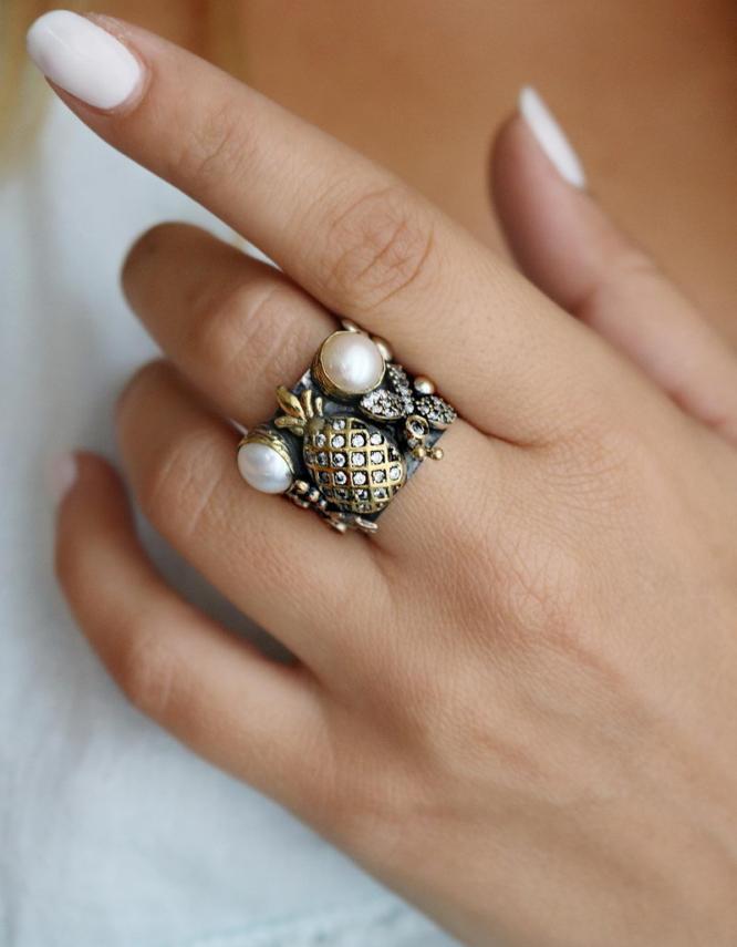 Βενετία 270 Ασήμι 925 Δαχτυλίδι