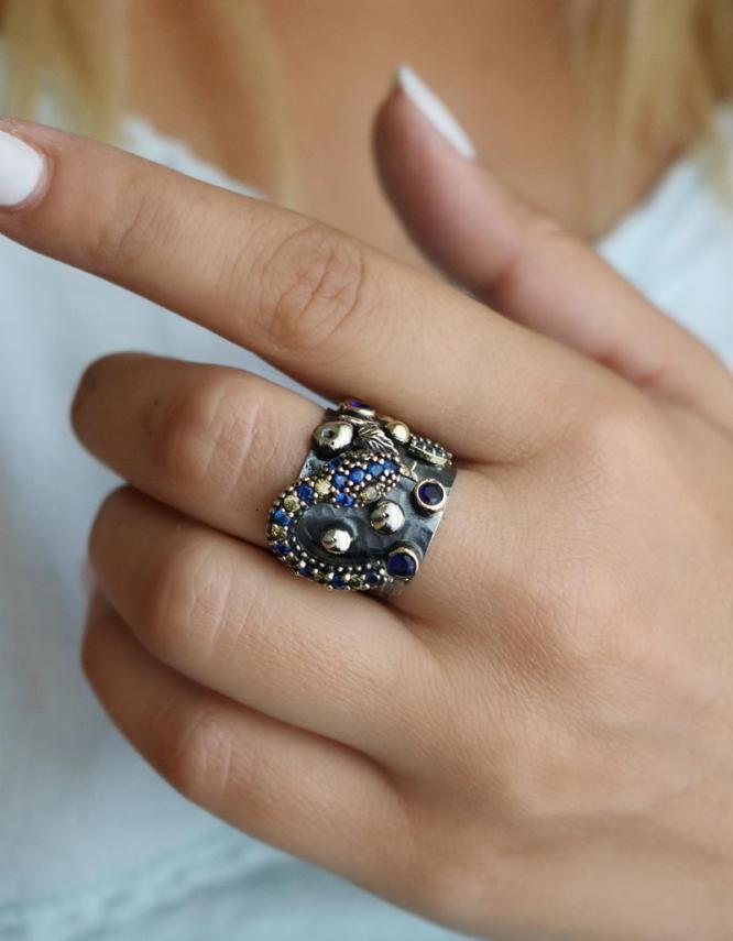 Βενετία 274 Ασήμι 925 Δαχτυλίδι