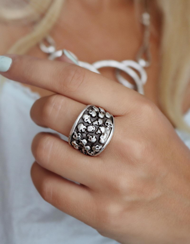 Skull Δαχτυλίδι