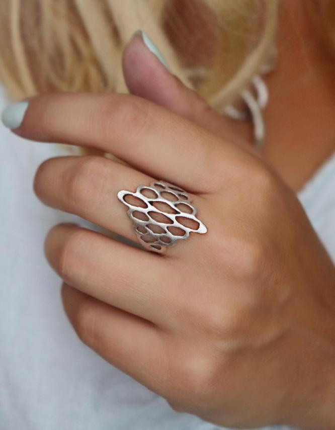 Κηρήθρα Δαχτυλίδι