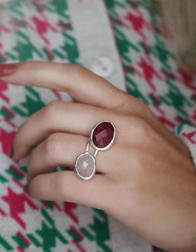 Άρτεμις Ασήμι 925 Δαχτυλίδι(+Χρώματα)