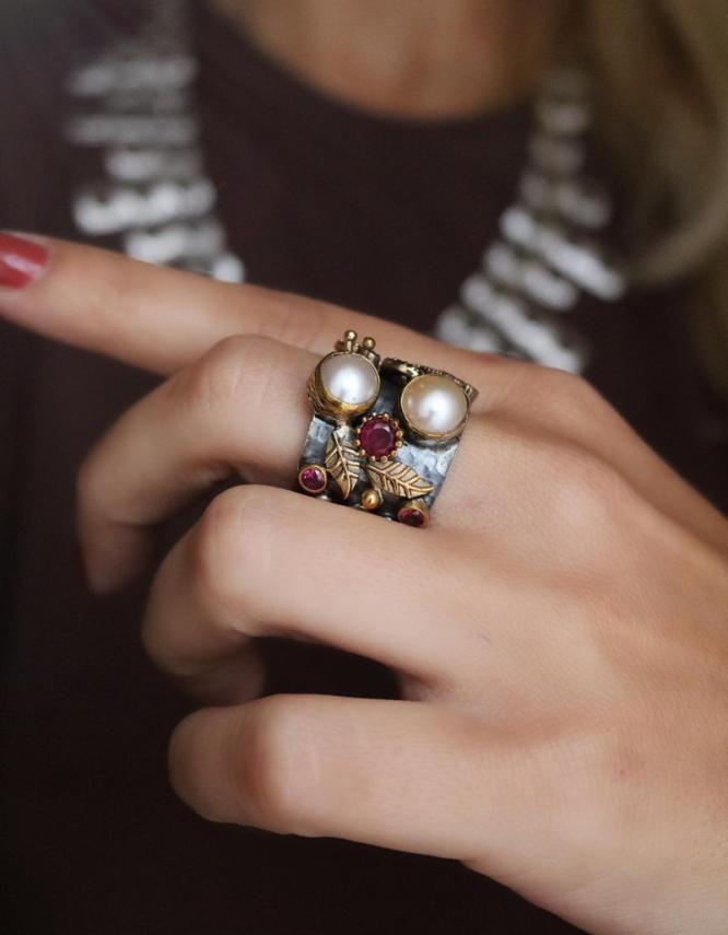 Βενετία 275 Ασήμι 925 Δαχτυλίδι