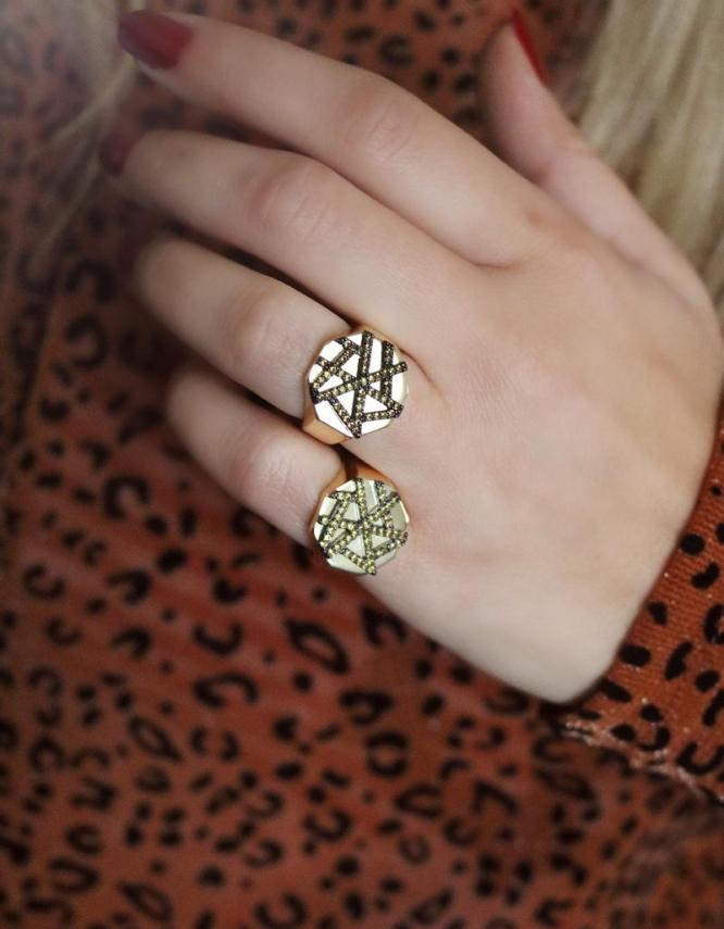 Χιονονυφάδα Δαχτυλίδι Ασήμι 925