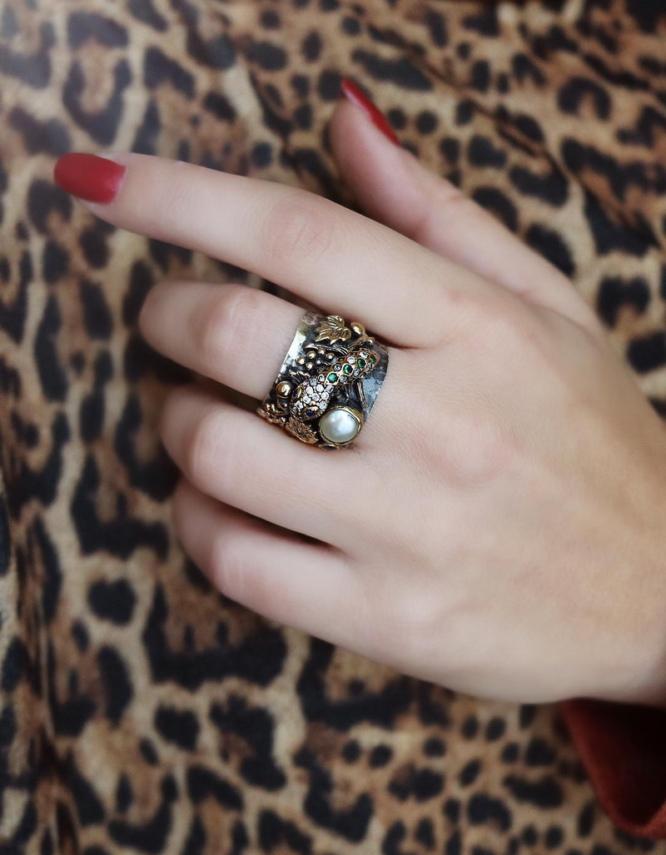 Βενετία 288 Ασήμι 925 Δαχτυλίδι