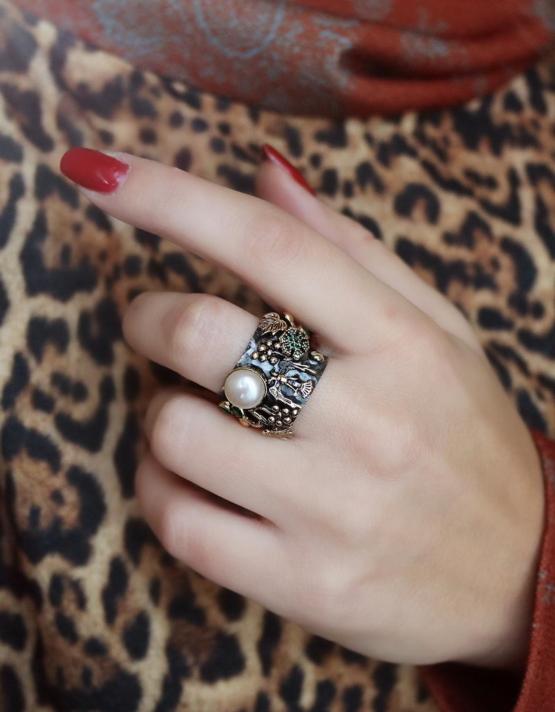 Βενετία 287 Ασήμι 925 Δαχτυλίδι