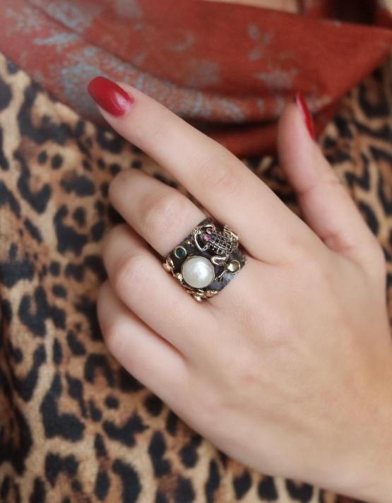 Βενετία 285 Ασήμι 925 Δαχτυλίδι