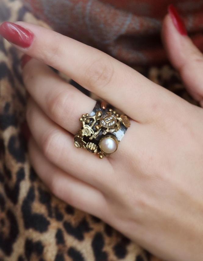 Βενετία 282 Ασήμι 925 Δαχτυλίδι