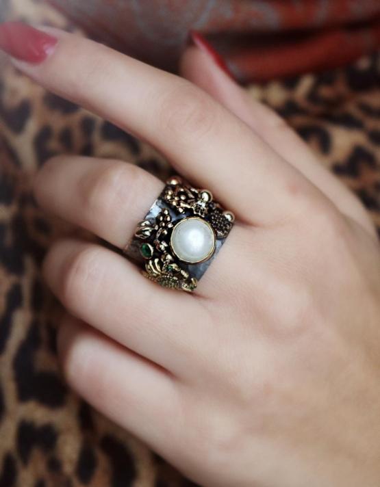 Βενετία 280 Ασήμι 925 Δαχτυλίδι