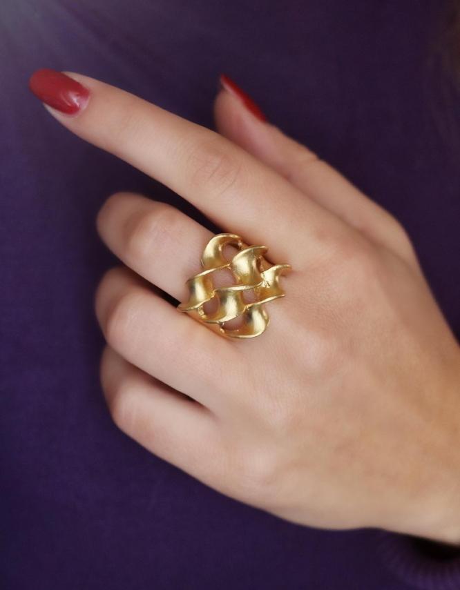 Σπιράλ Δαχτυλίδι